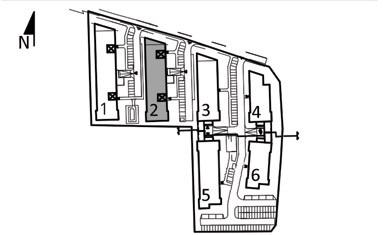 Uroczysko I / budynek 2 / klatka D / mieszkanie D/4/M2 rzut 3