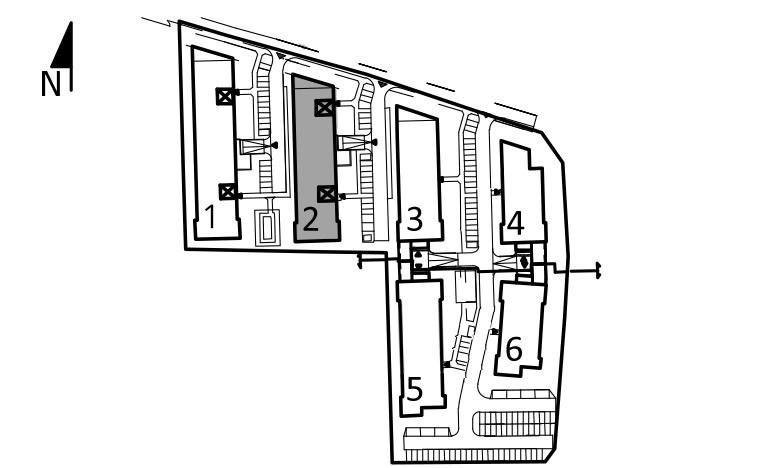 Uroczysko I / budynek 2 / klatka D / mieszkanie D/9/M2 rzut 3