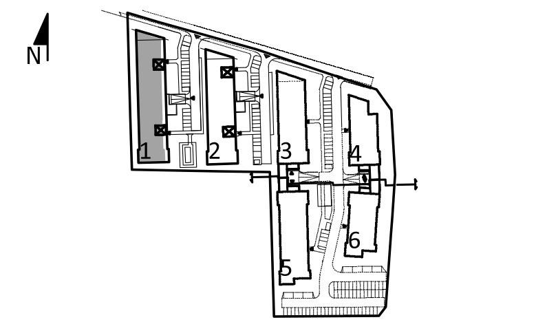 Uroczysko I / budynek 1 / klatka A / mieszkanie A/19/M2 rzut 3