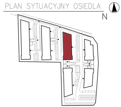 Uroczysko II / budynek 3 / miejsce postojowe 22 rzut 3
