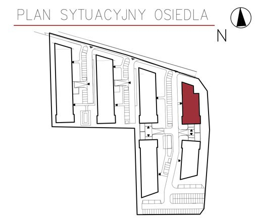 Uroczysko II / budynek 4 / miejsce postojowe 10 rzut 3