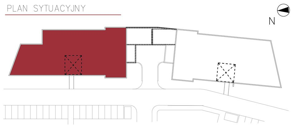 Uroczysko II / budynek 4 / miejsce postojowe 12 rzut 2