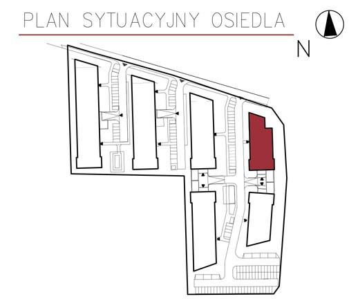 Uroczysko II / budynek 4 / miejsce postojowe 12 rzut 3