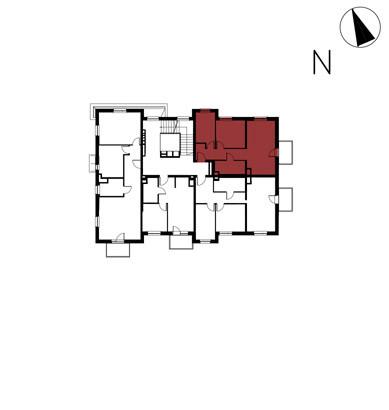 Willa nad Potokiem / budynek 1 / mieszkanie 5/M3 rzut 2