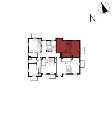 Willa nad Potokiem / budynek 1 / mieszkanie 9/M1 rzut 2