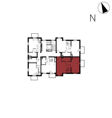 Willa nad Potokiem / budynek 1 / mieszkanie 10/M1 rzut 2