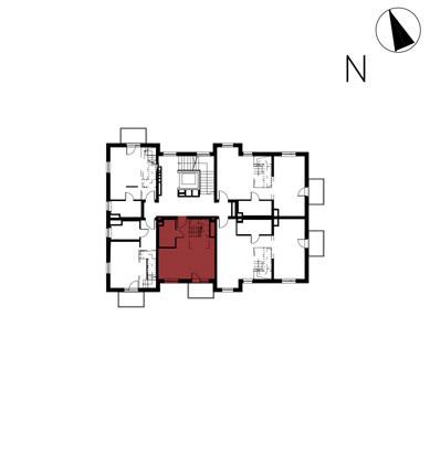 Willa nad Potokiem / budynek 1 / mieszkanie 11/M1 rzut 2