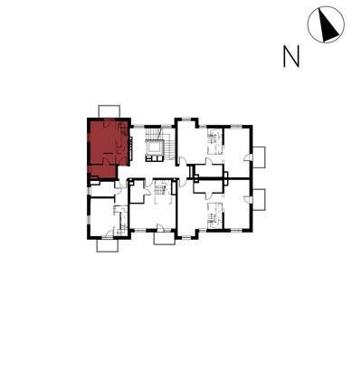 Willa nad Potokiem / budynek 1 / mieszkanie 13/M1 rzut 2