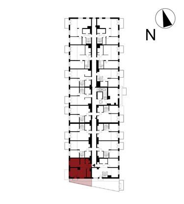Wojszyckie Alejki / budynek 1 / mieszkanie 52/M2 rzut 2