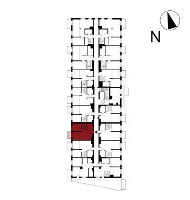 Wojszyckie Alejki / budynek 1 / mieszkanie 54/M2 rzut 2