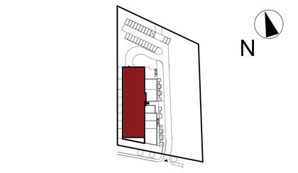 Wojszyckie Alejki / budynek 1 / mieszkanie 57/M2 rzut 3