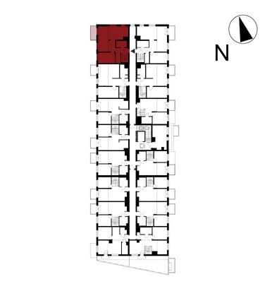 Wojszyckie Alejki / budynek 1 / mieszkanie 59/M2 rzut 2