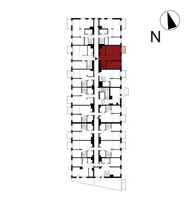 Wojszyckie Alejki / budynek 1 / mieszkanie 61/M2 rzut 2