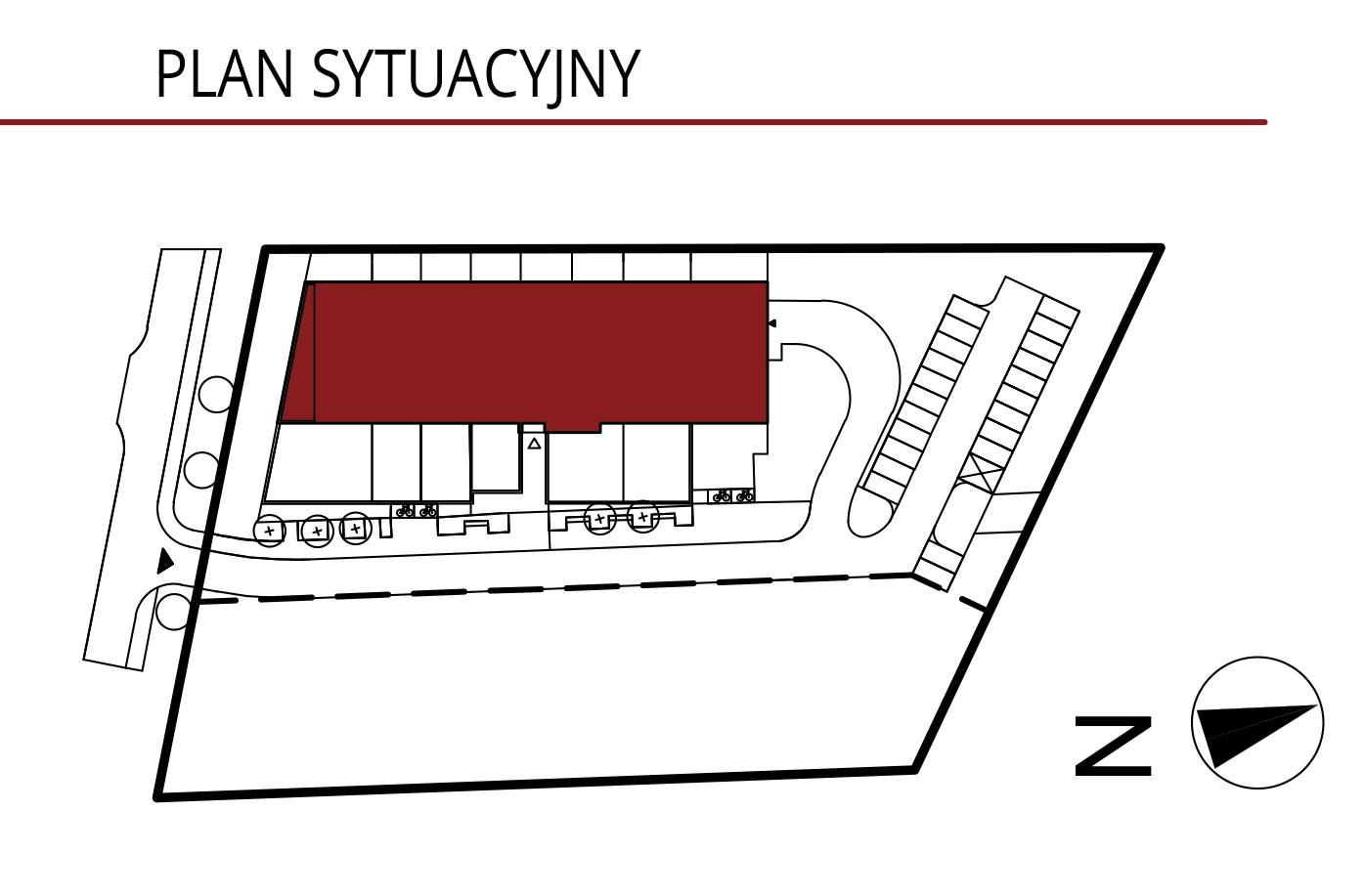 Wojszyckie Alejki / budynek 1 / miejsce postojowe 1 rzut 2