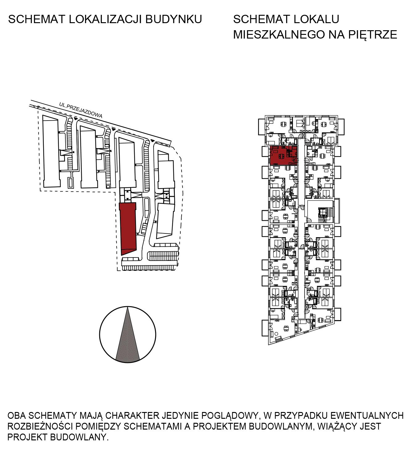 Uroczysko III / budynek 5 / mieszkanie G/1/26 rzut 2