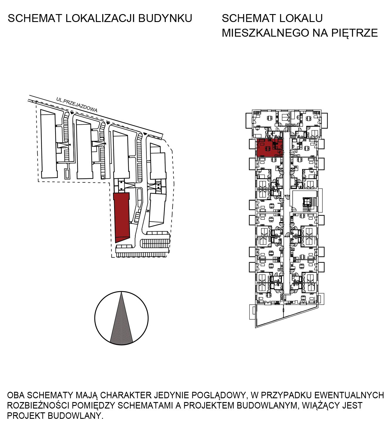 Uroczysko III / budynek 5 / mieszkanie G/2/41 rzut 2