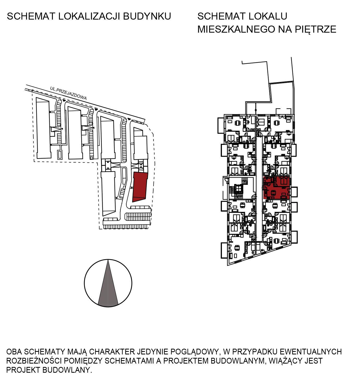 Uroczysko III / budynek 6 / mieszkanie H/0/5 rzut 2