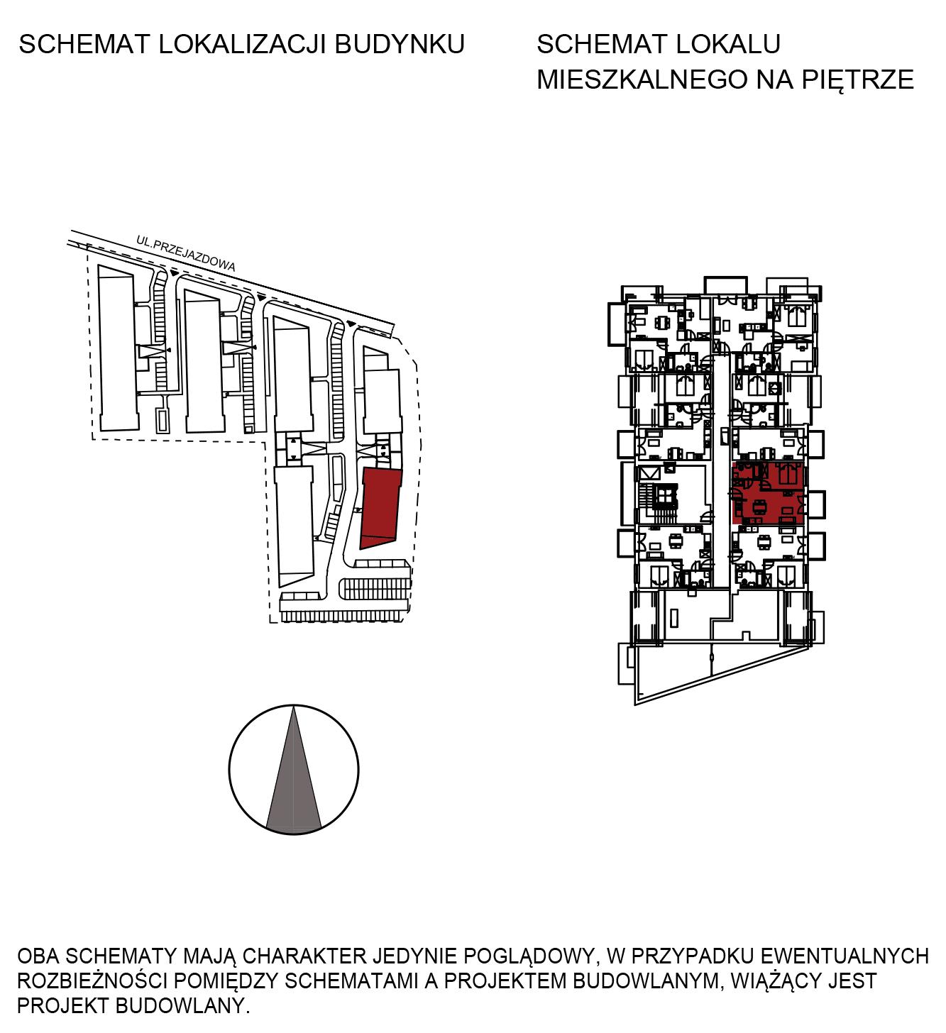 Uroczysko III / budynek 6 / mieszkanie H/3/32 rzut 2