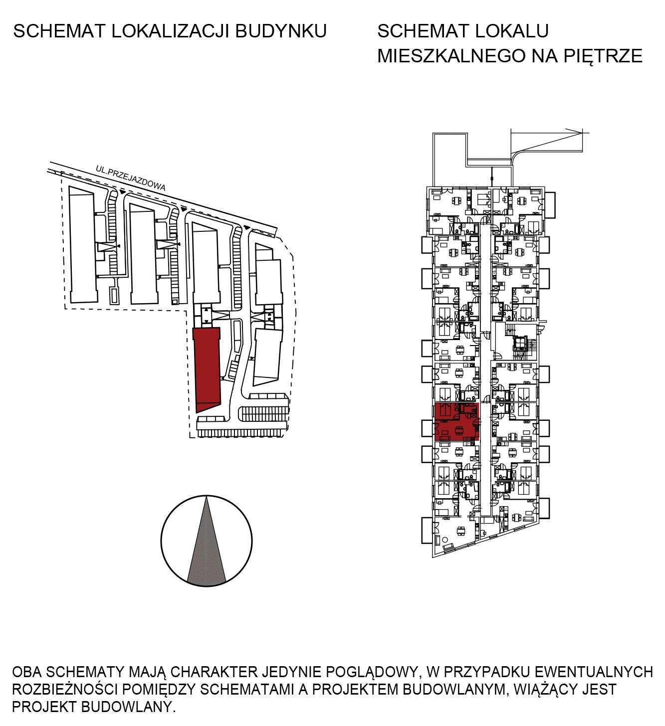 Uroczysko III / budynek 5 / mieszkanie G/0/7 rzut 2