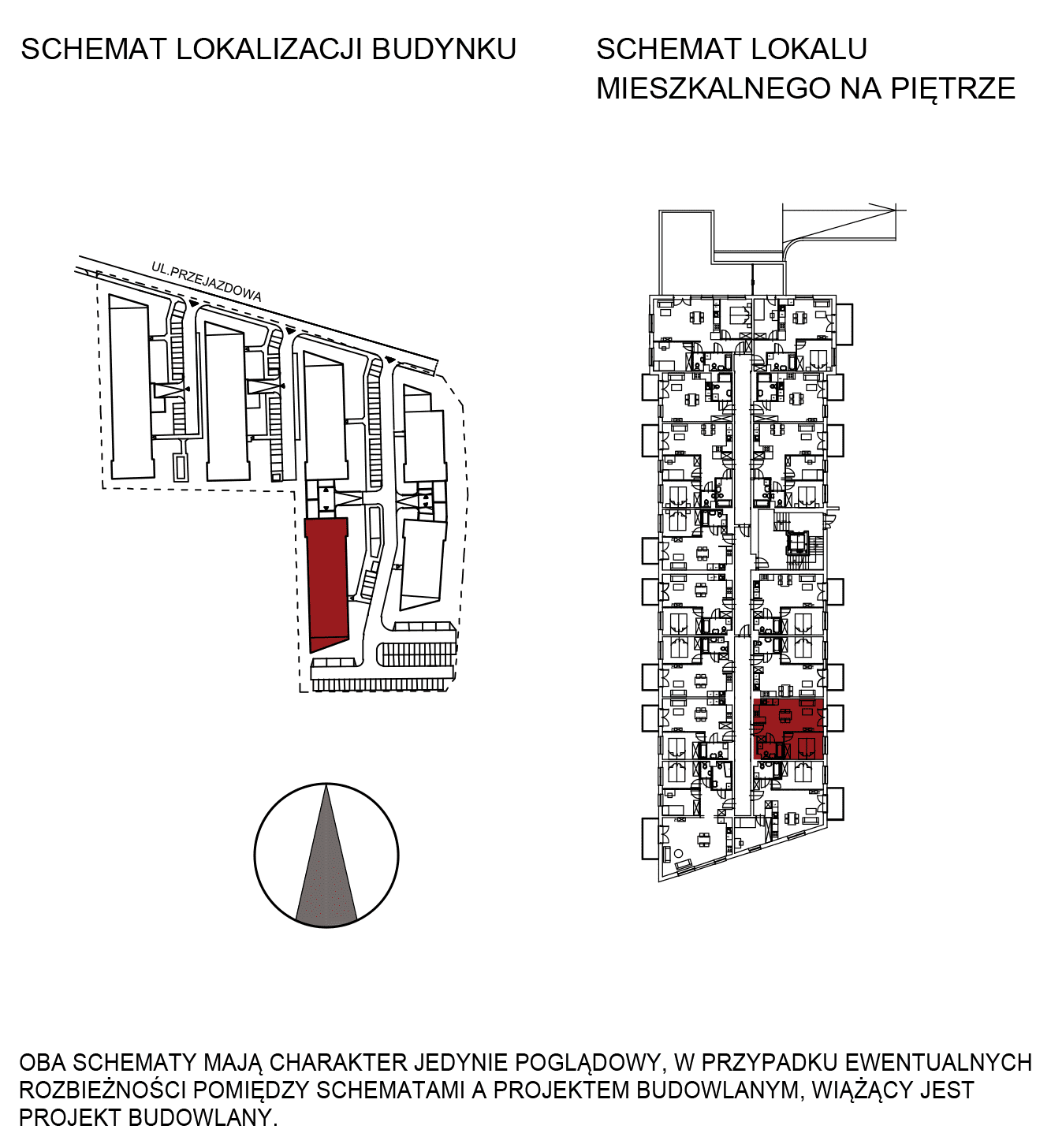 Uroczysko III / budynek 5 / mieszkanie G/0/3 rzut 2