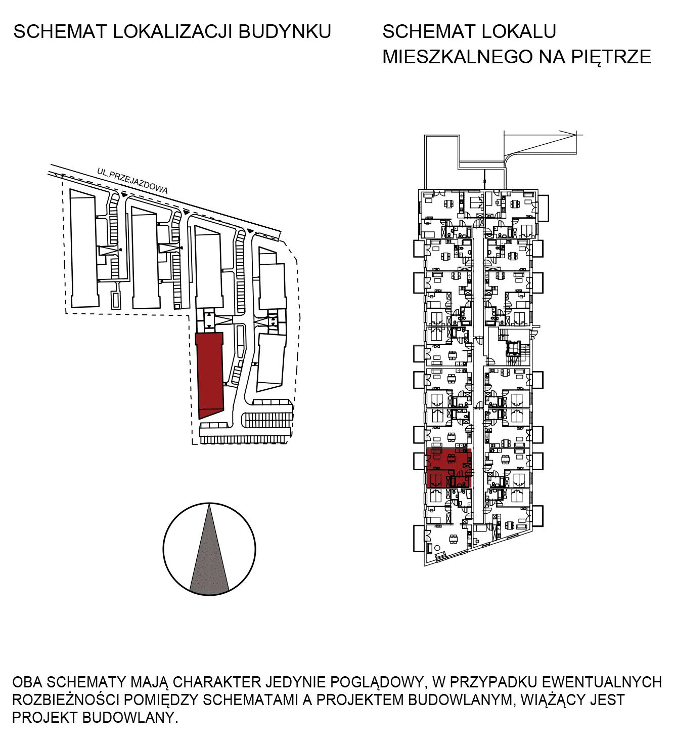 Uroczysko III / budynek 5 / mieszkanie G/0/6 rzut 2