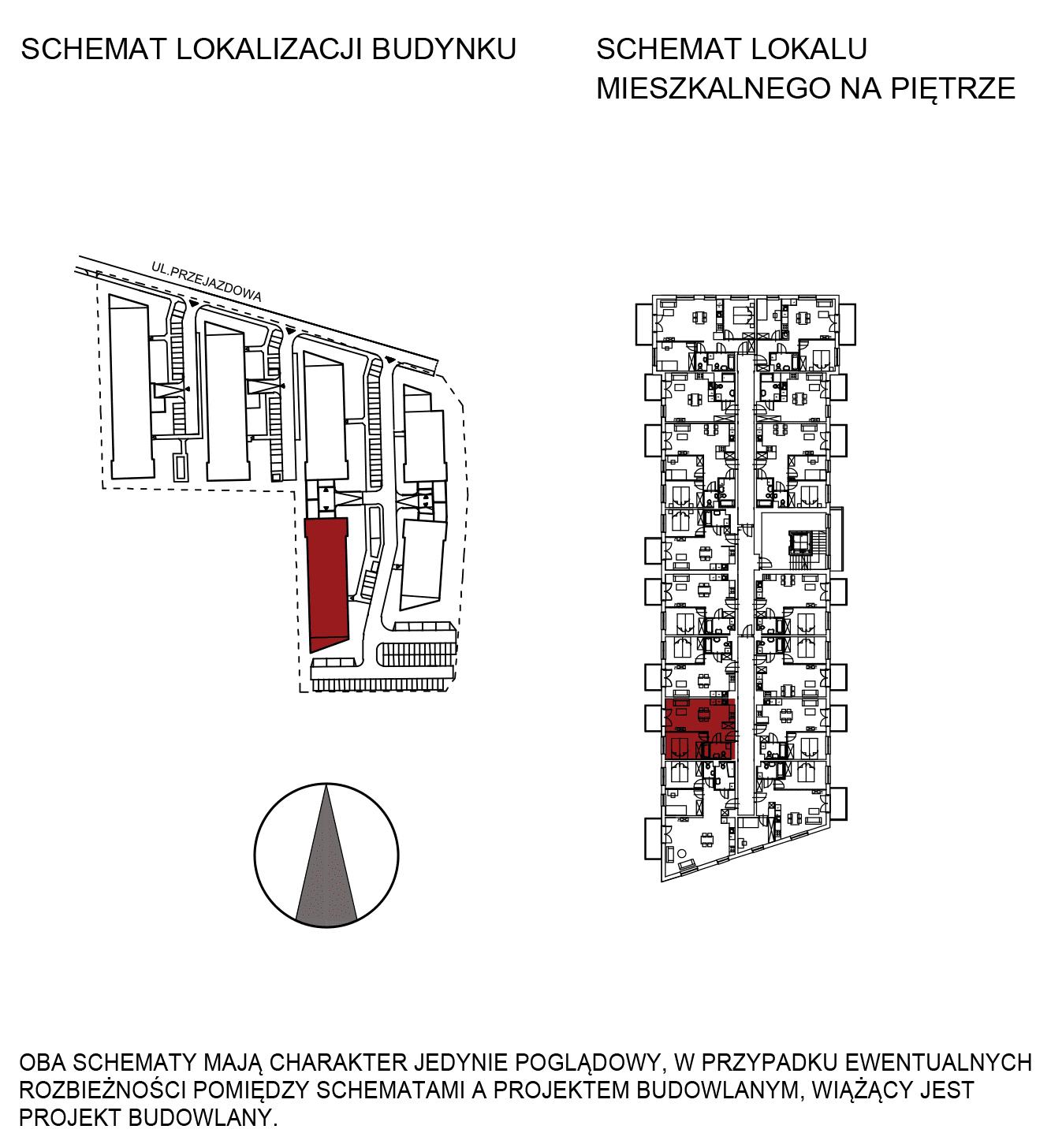 Uroczysko III / budynek 5 / mieszkanie G/1/21 rzut 2