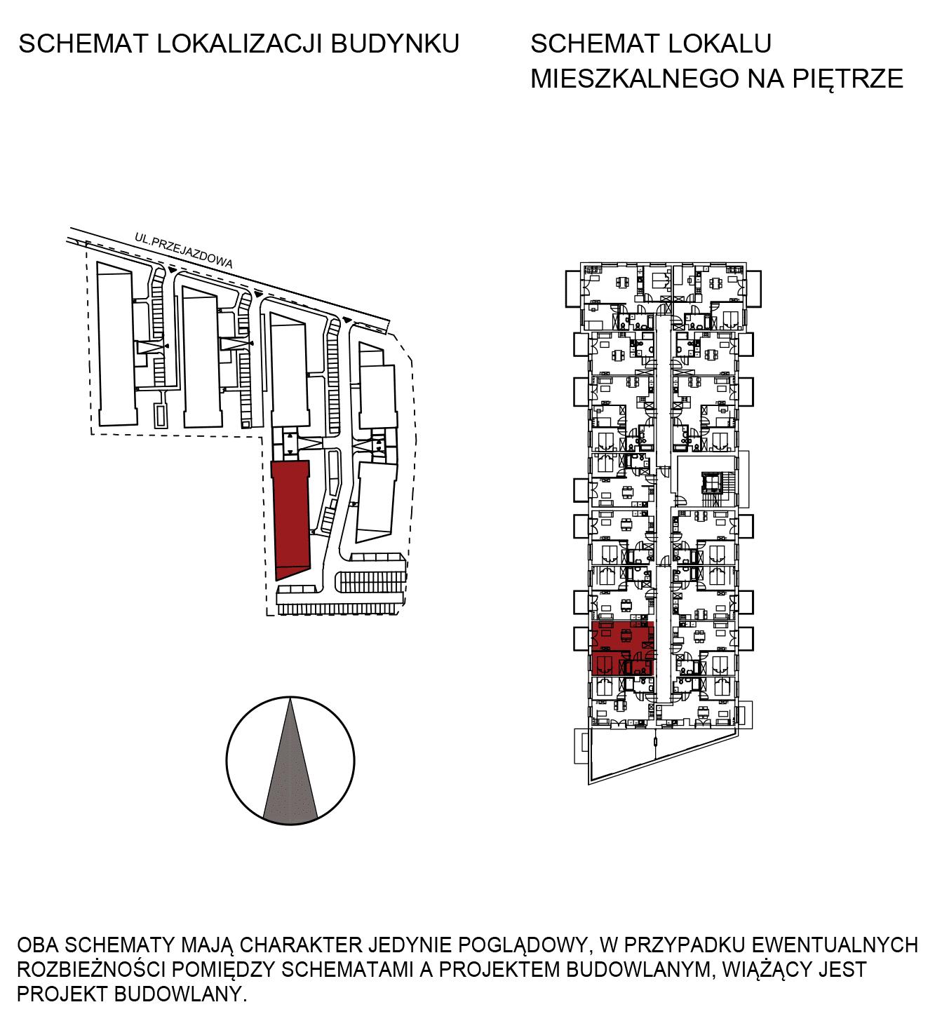 Uroczysko III / budynek 5 / mieszkanie G/2/36 rzut 2