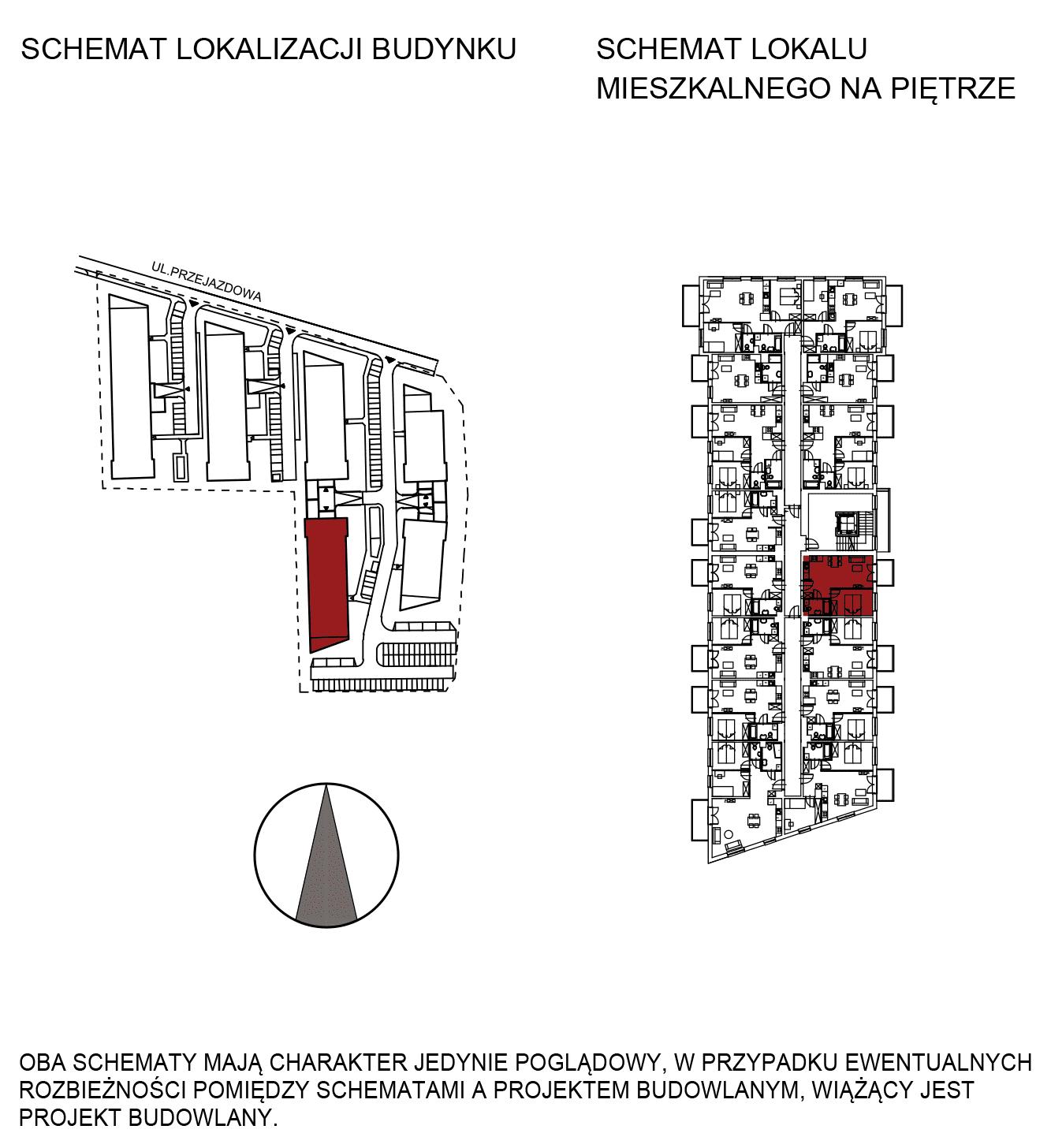 Uroczysko III / budynek 5 / mieszkanie G/1/16 rzut 2