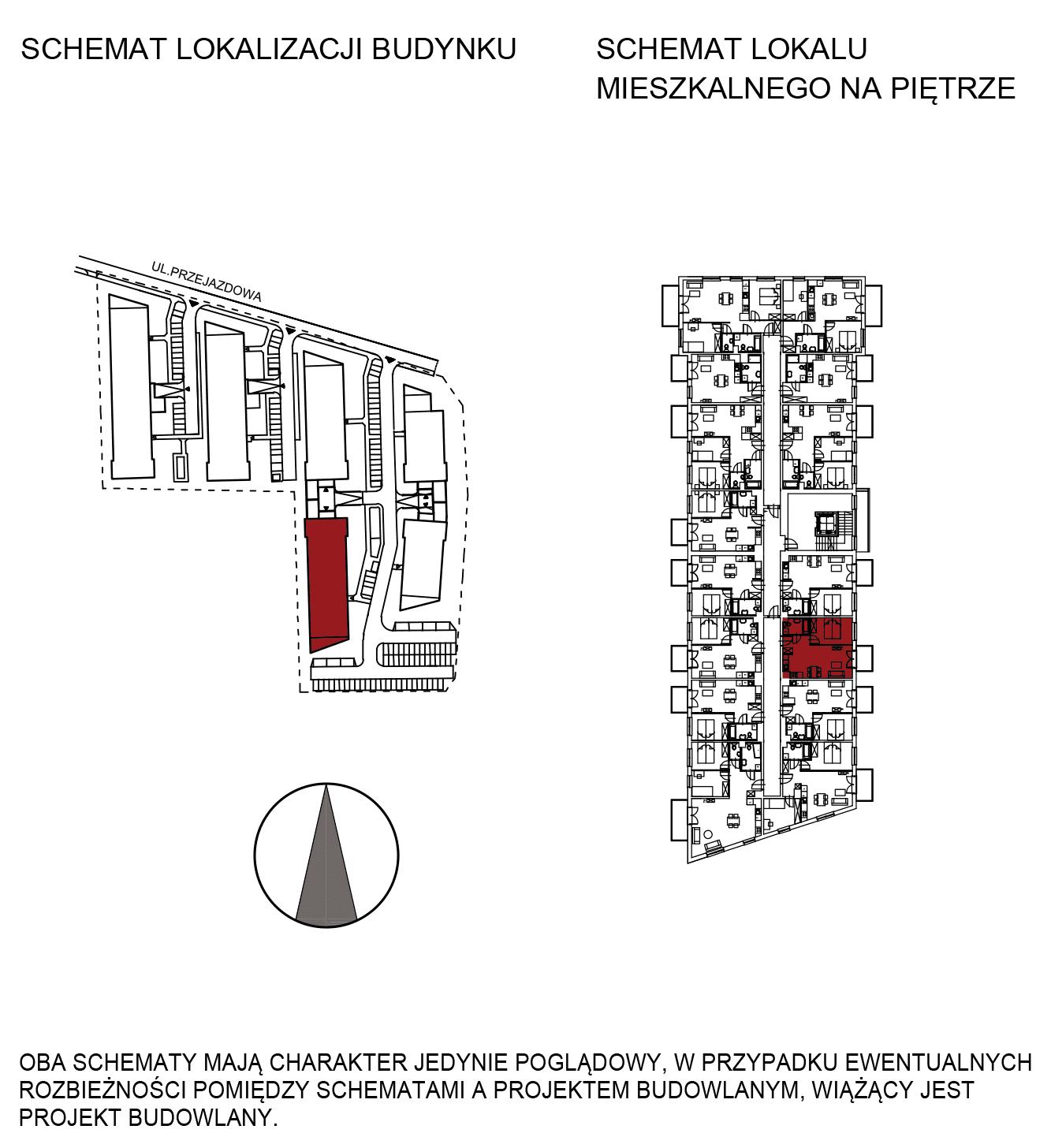 Uroczysko III / budynek 5 / mieszkanie G/1/17 rzut 2
