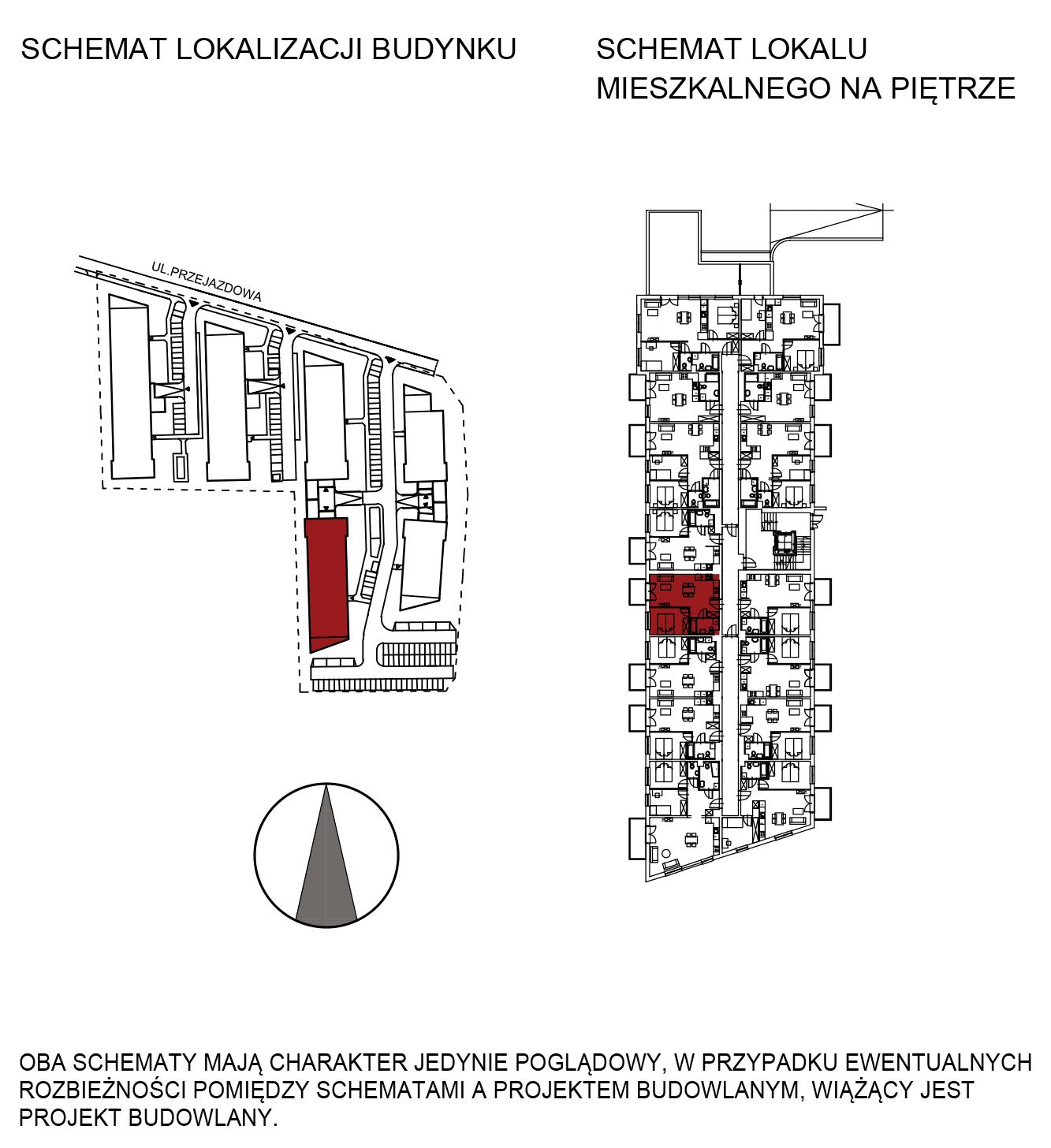 Uroczysko III / budynek 5 / mieszkanie G/0/8 rzut 2