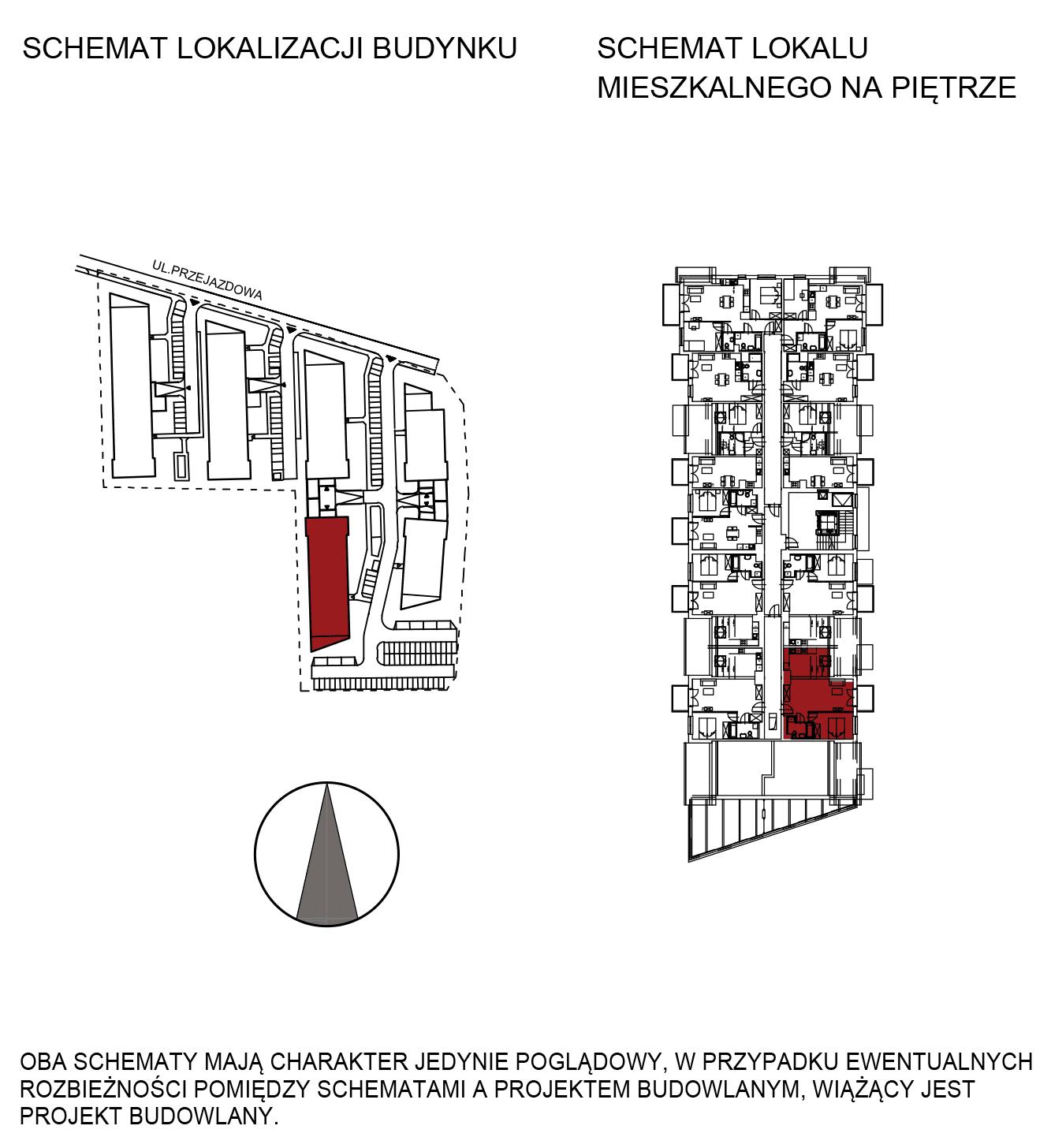 Uroczysko III / budynek 5 / mieszkanie G/3/47 rzut 2