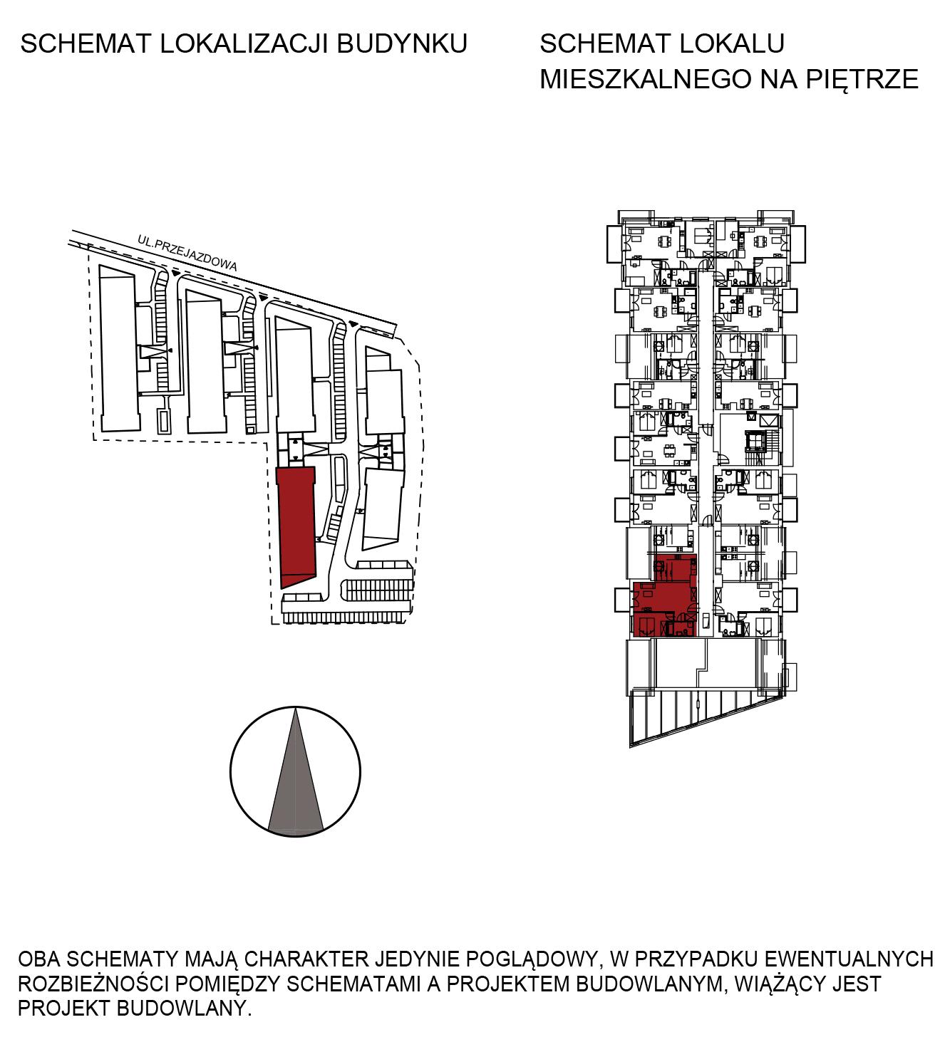 Uroczysko III / budynek 5 / mieszkanie G/3/48 rzut 2