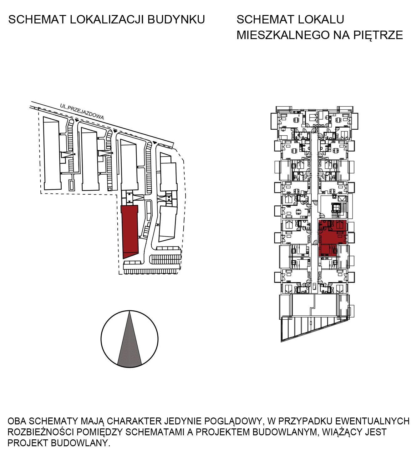 Uroczysko III / budynek 5 / mieszkanie G/3/46 rzut 2