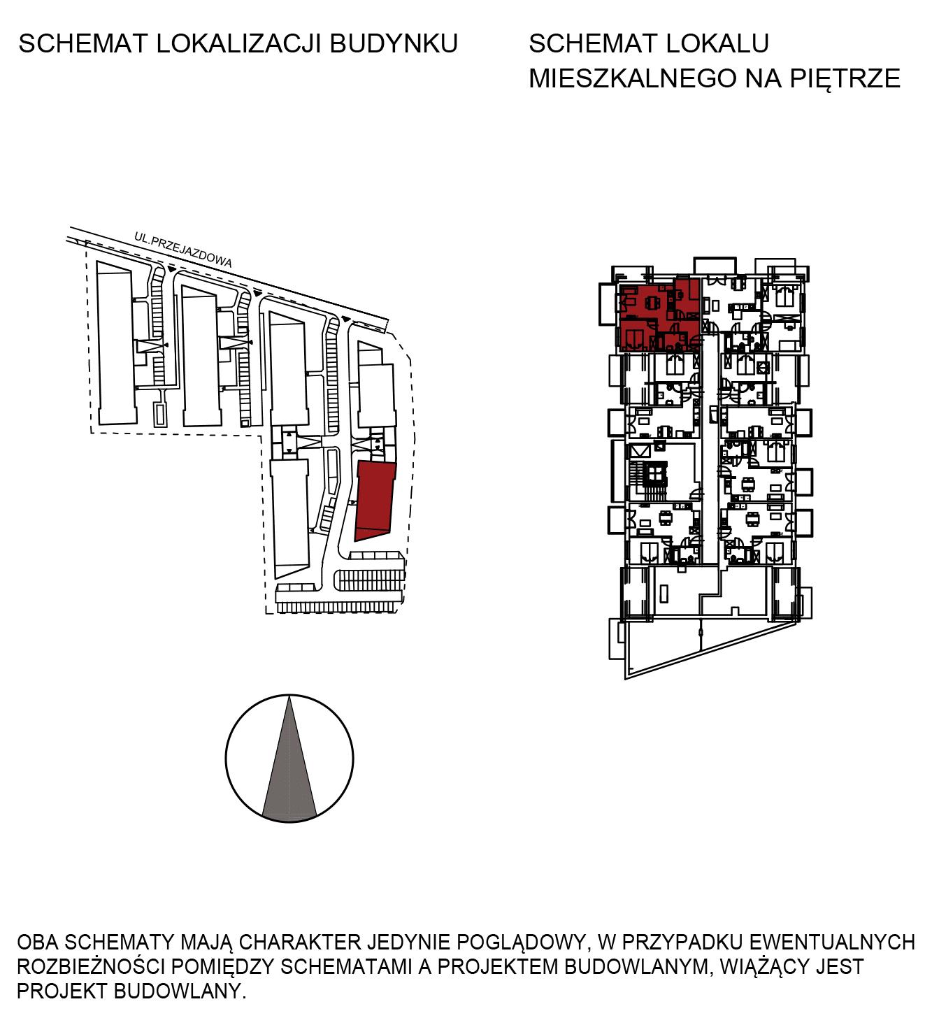 Uroczysko III / budynek 6 / mieszkanie H/3/29 rzut 2