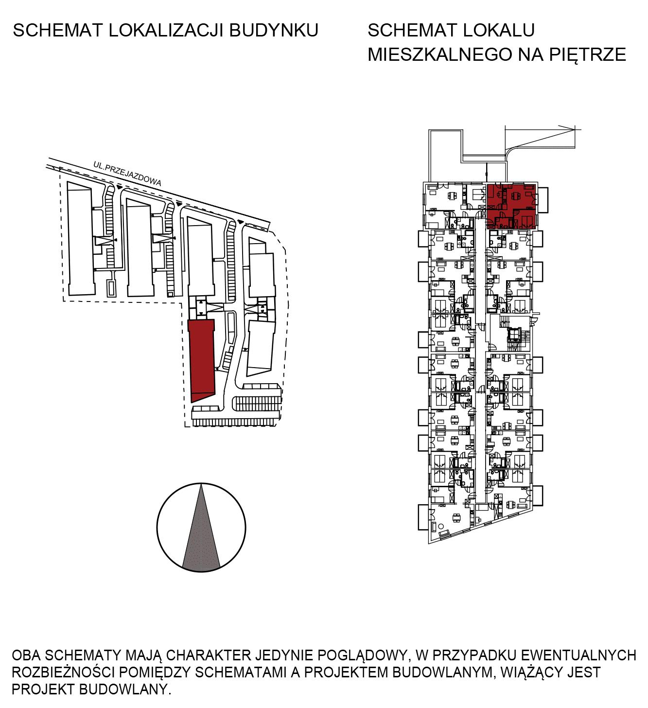 Uroczysko III / budynek 5 / mieszkanie G/0/13 rzut 2