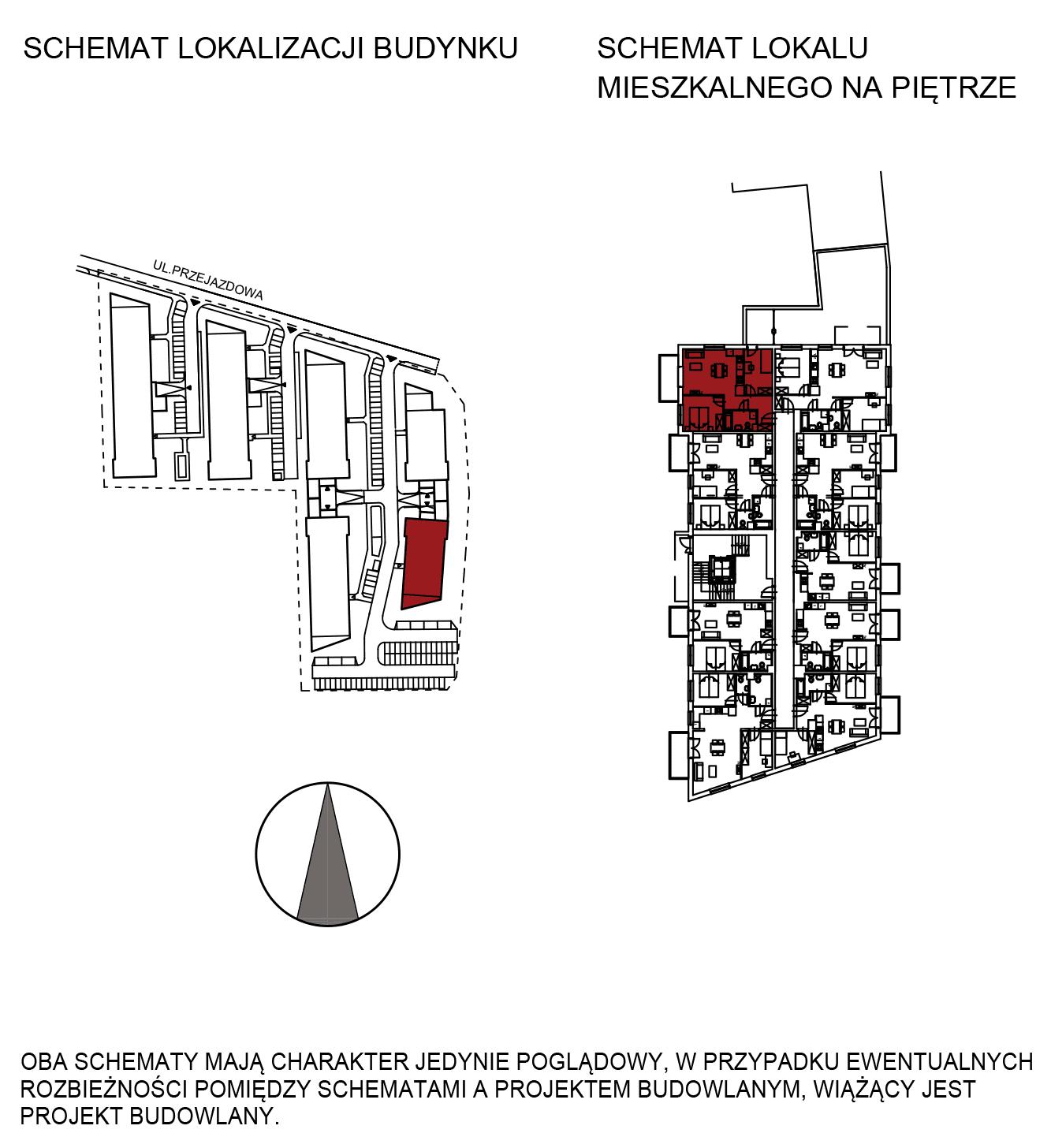 Uroczysko III / budynek 6 / mieszkanie H/0/2 rzut 2