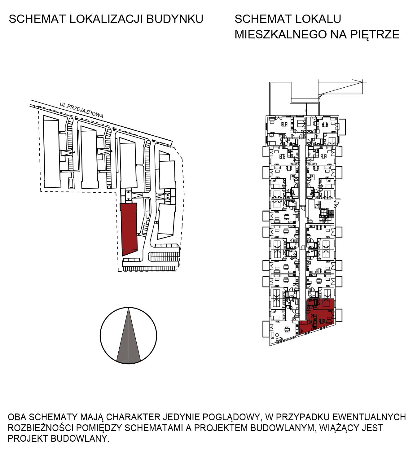 Uroczysko III / budynek 5 / mieszkanie G/1/19 rzut 2