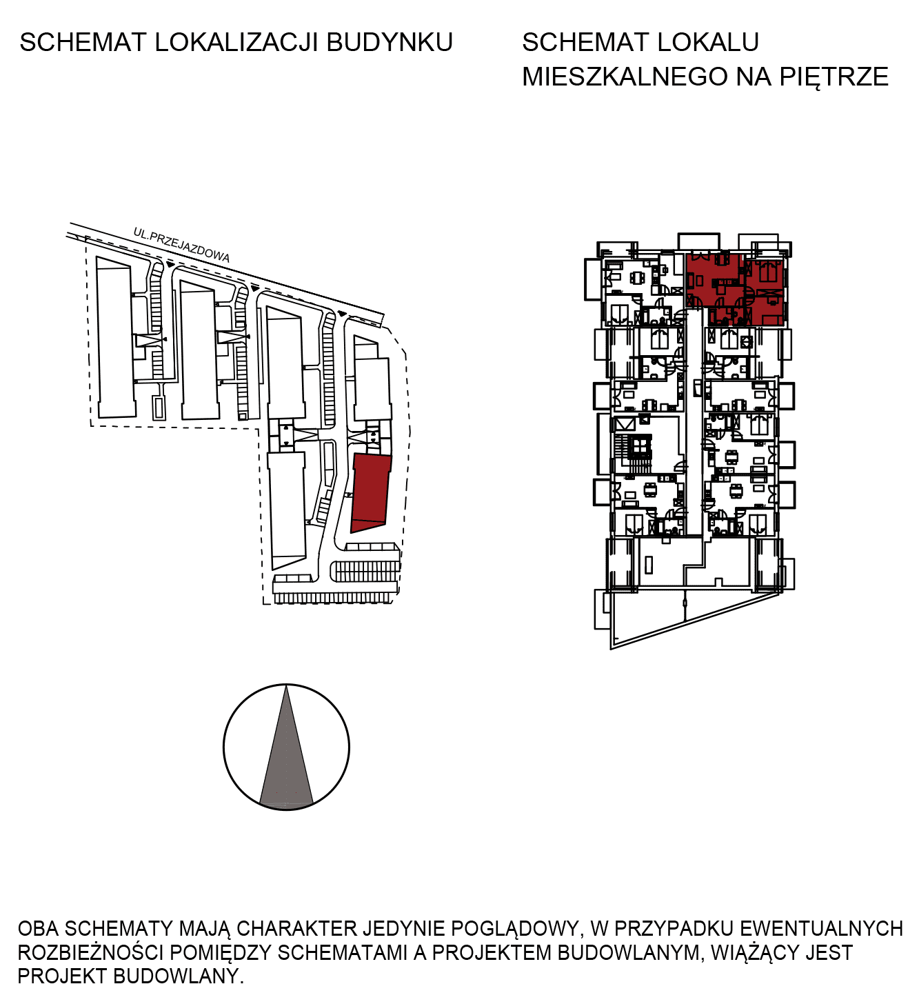 Uroczysko III / budynek 6 / mieszkanie H/3/30 rzut 2