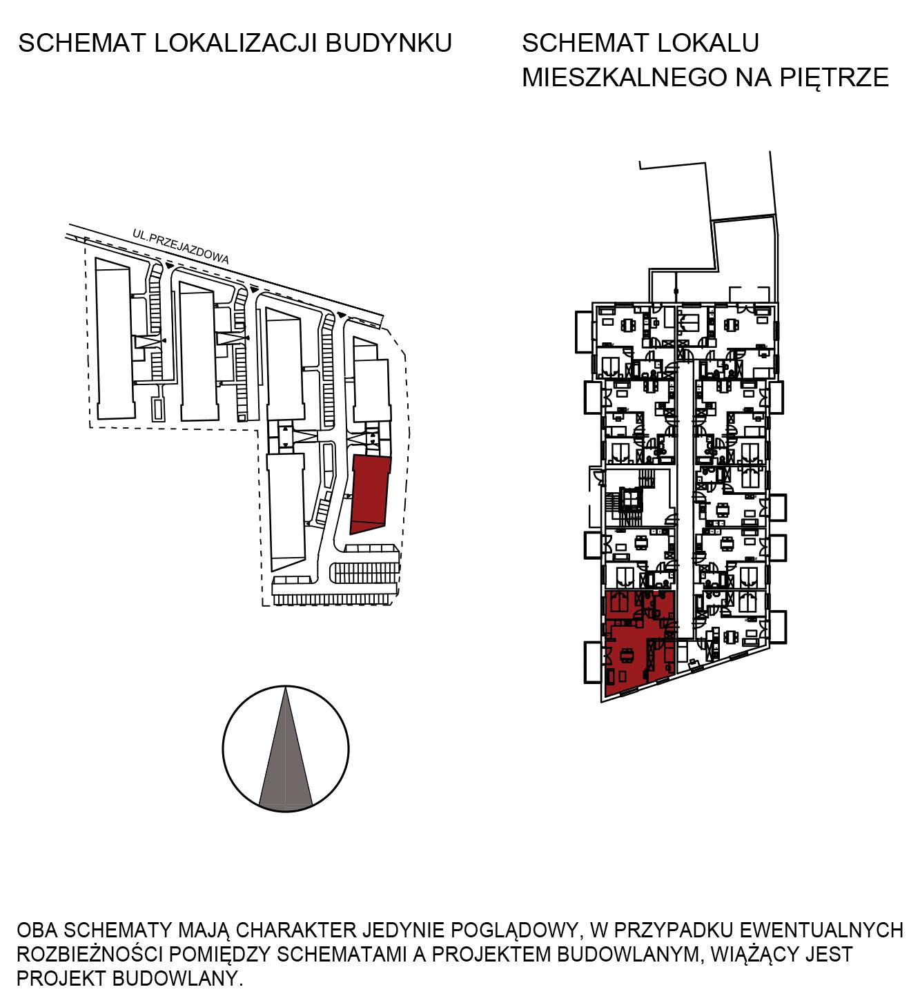 Uroczysko III / budynek 6 / mieszkanie H/0/8 rzut 2