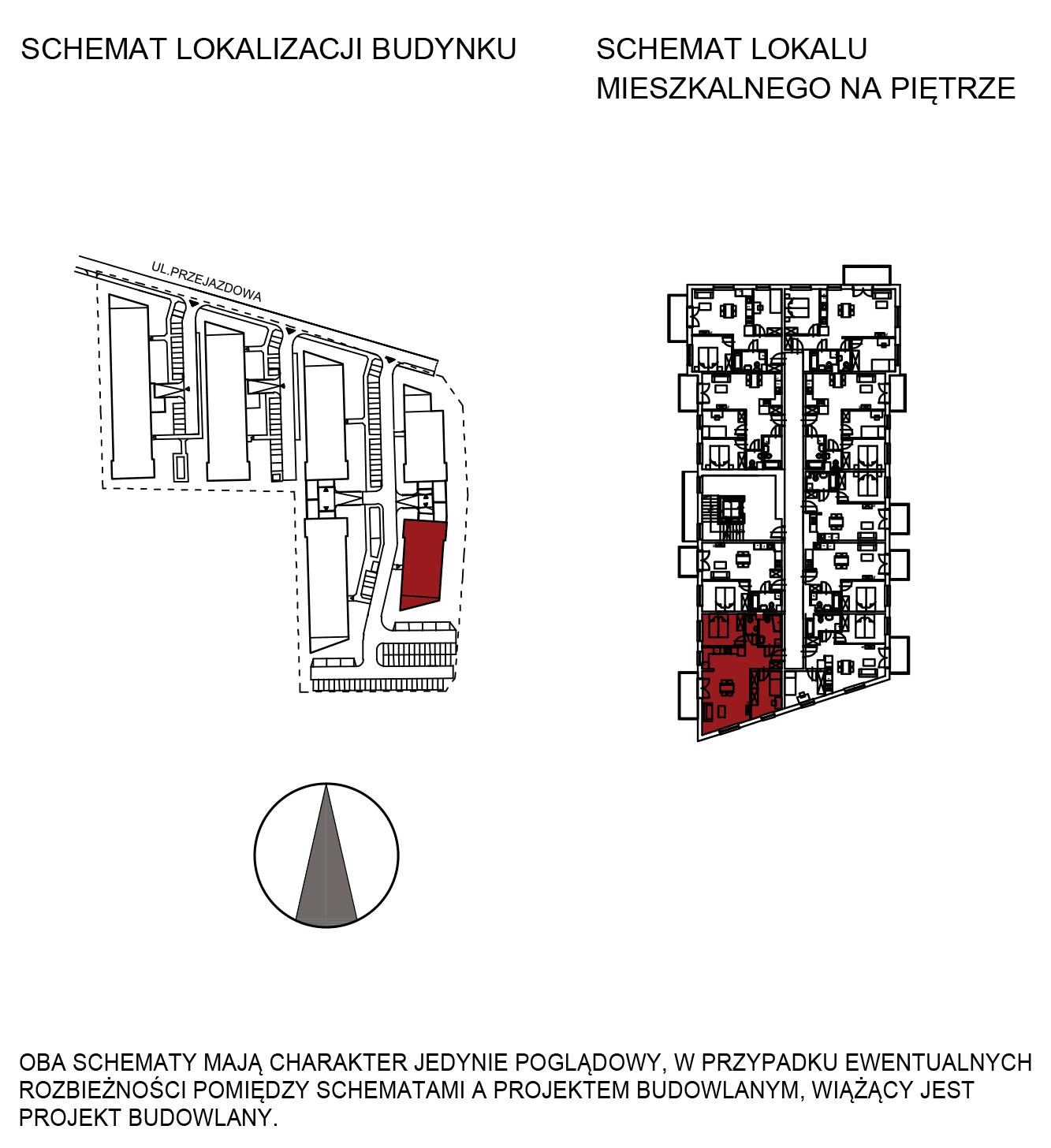Uroczysko III / budynek 6 / mieszkanie H/1/17 rzut 2