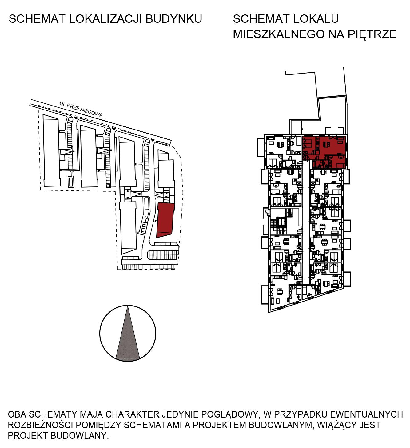 Uroczysko III / budynek 6 / mieszkanie H/0/3 rzut 2