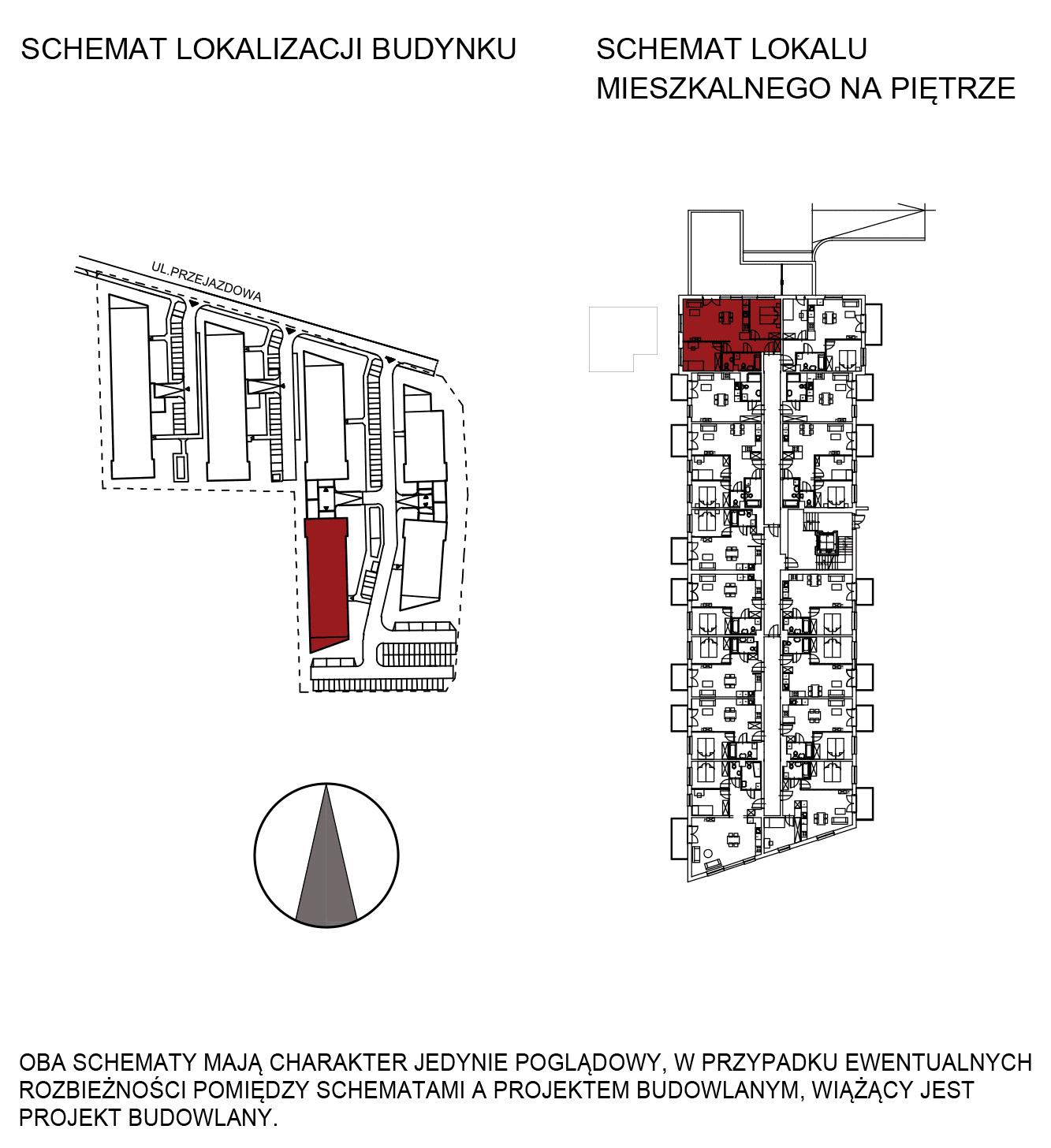 Uroczysko III / budynek 5 / mieszkanie G/0/12 rzut 2