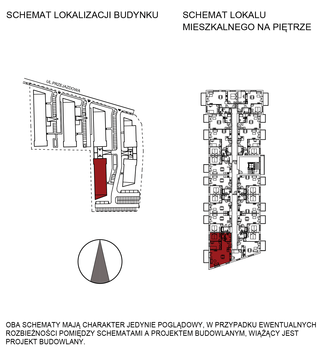 Uroczysko III / budynek 5 / mieszkanie G/1/20 rzut 2