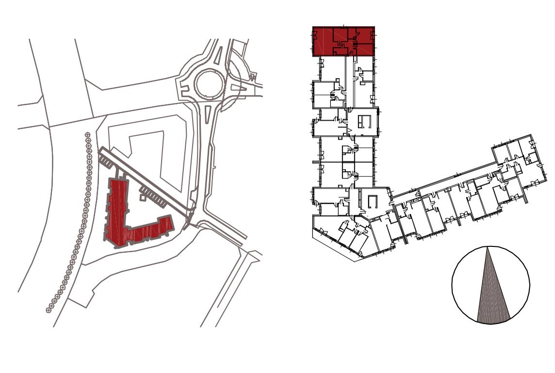 Kameralna Olszówka / budynek 1 / mieszkanie KO/B/1/4 rzut 2