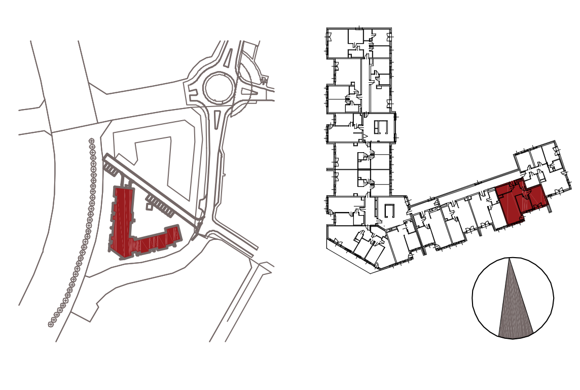 Kameralna Olszówka / budynek 1 / mieszkanie KO/A/0/2 rzut 2