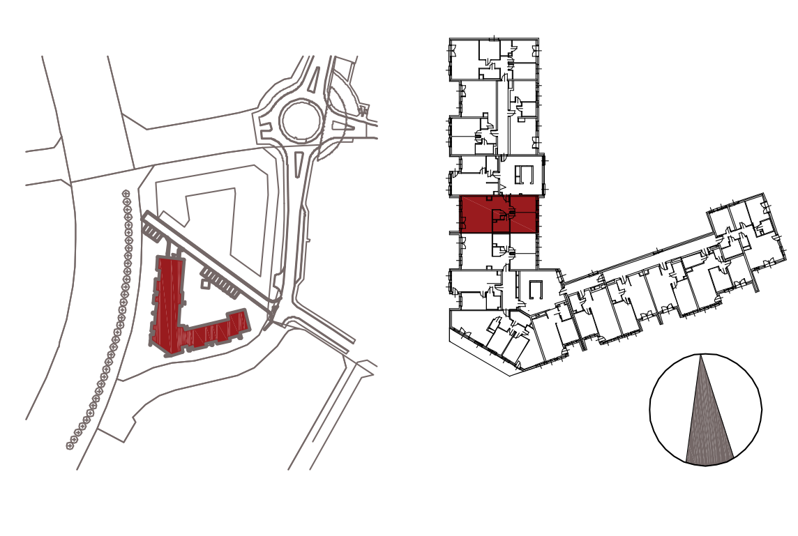Kameralna Olszówka / budynek 1 / mieszkanie KO/B/1/1 rzut 2