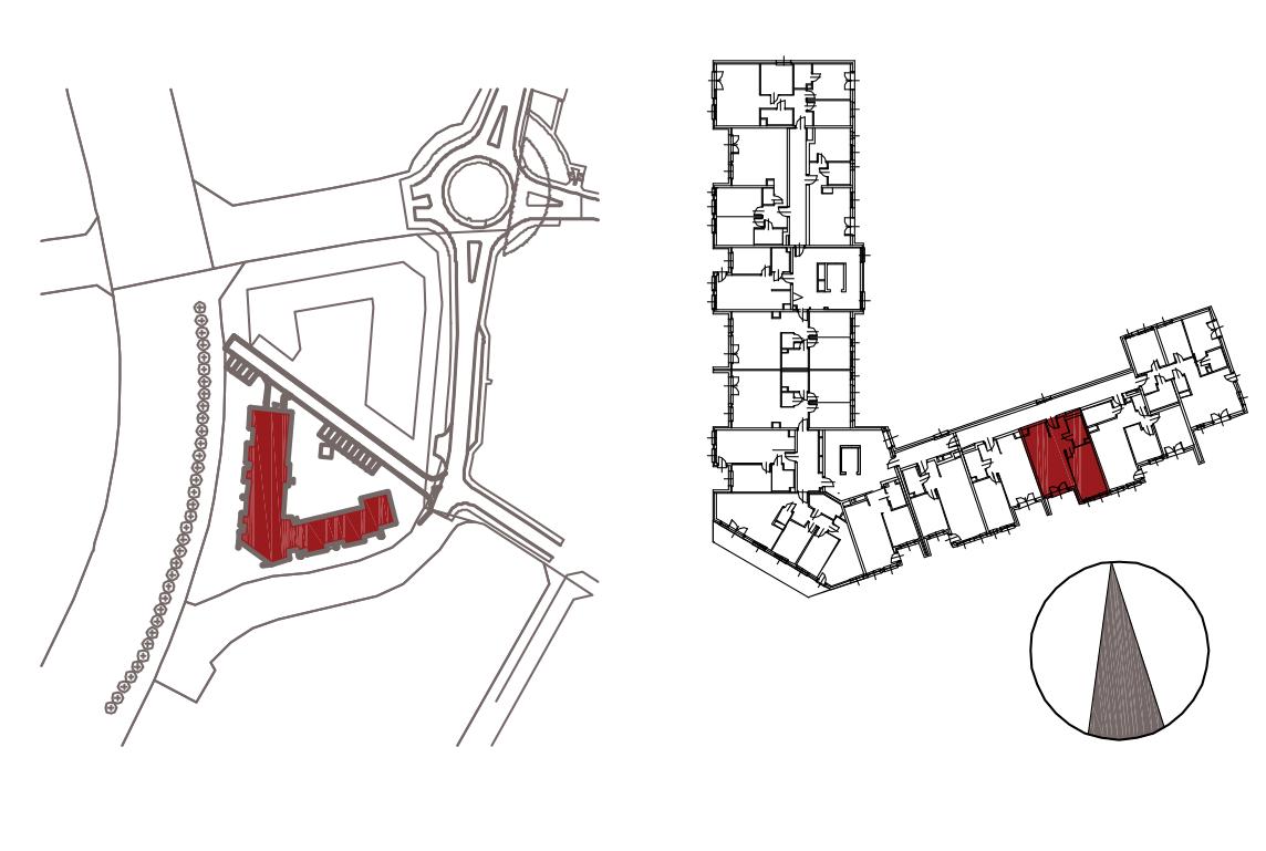 Kameralna Olszówka / budynek 1 / mieszkanie KO/A/2/3 rzut 2