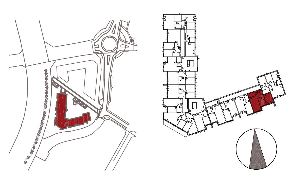 Kameralna Olszówka / budynek 1 / mieszkanie KO/A/3/2 rzut 2