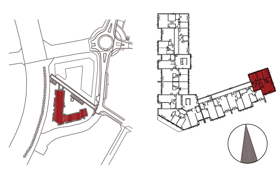 Kameralna Olszówka / budynek 1 / mieszkanie KO/A/3/1 rzut 2