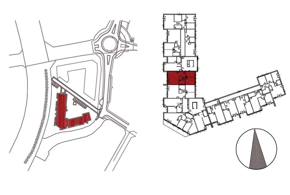 Kameralna Olszówka / budynek 1 / mieszkanie KO/B/3/1 rzut 2
